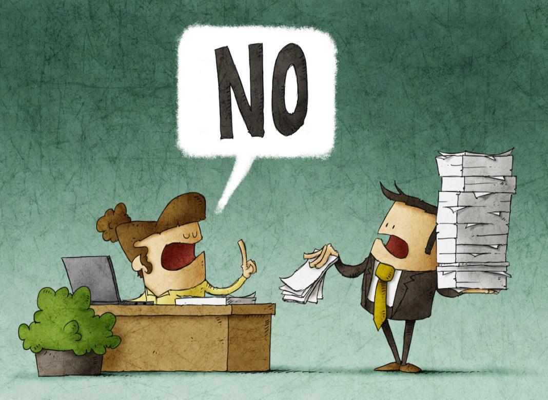 Să învățăm să spunem nu