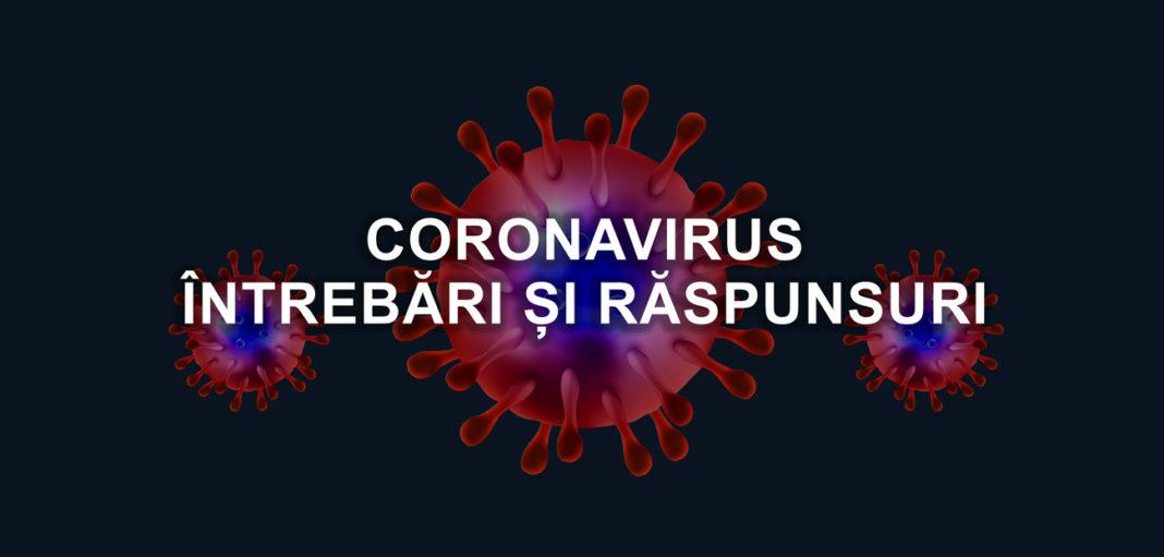 Coronavirus: întrebări și răspunsuri
